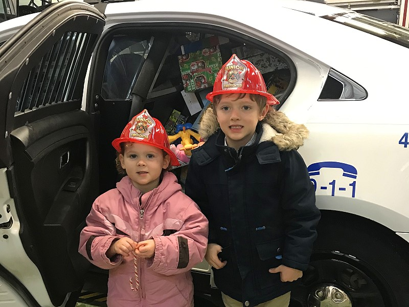 Toy Drive Kicks Off With Swan River Fire Hall Event